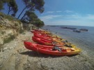 A good kayak ride on Lerins Islands