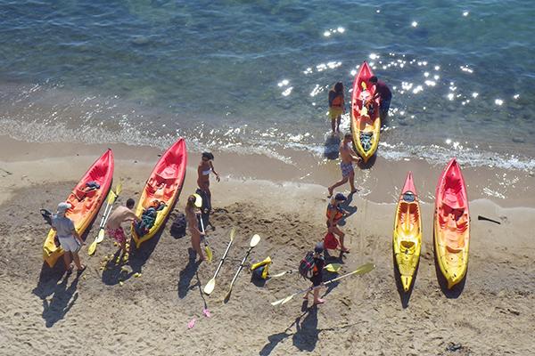 Kayak de mer - CANNES - Antibes - Golfe Juan - Iles de Lérins