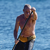 Jean-Marc - Monitor kayak and stand up paddle: Cannes - Lérins Islands - Cap d'Antibes - St Jean Cap Ferrat - Theoule sur mer